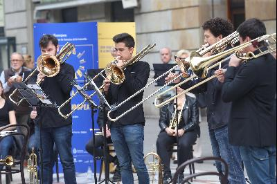 Concert by the European Union Youth Orchestra.