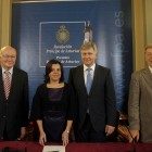 Visit of the Mayors of Berlin to the General Assembly Building of the Principality of Asturias