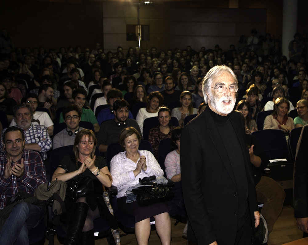 Meeting with Michael Haneke
