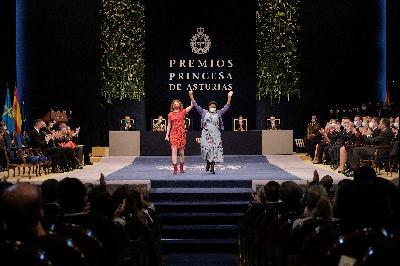 Ceremonia de los Premios Princesa de Asturias 2021