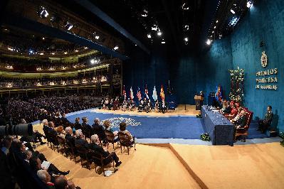 Ceremonia de los Premios Princesa de Asturias 2019