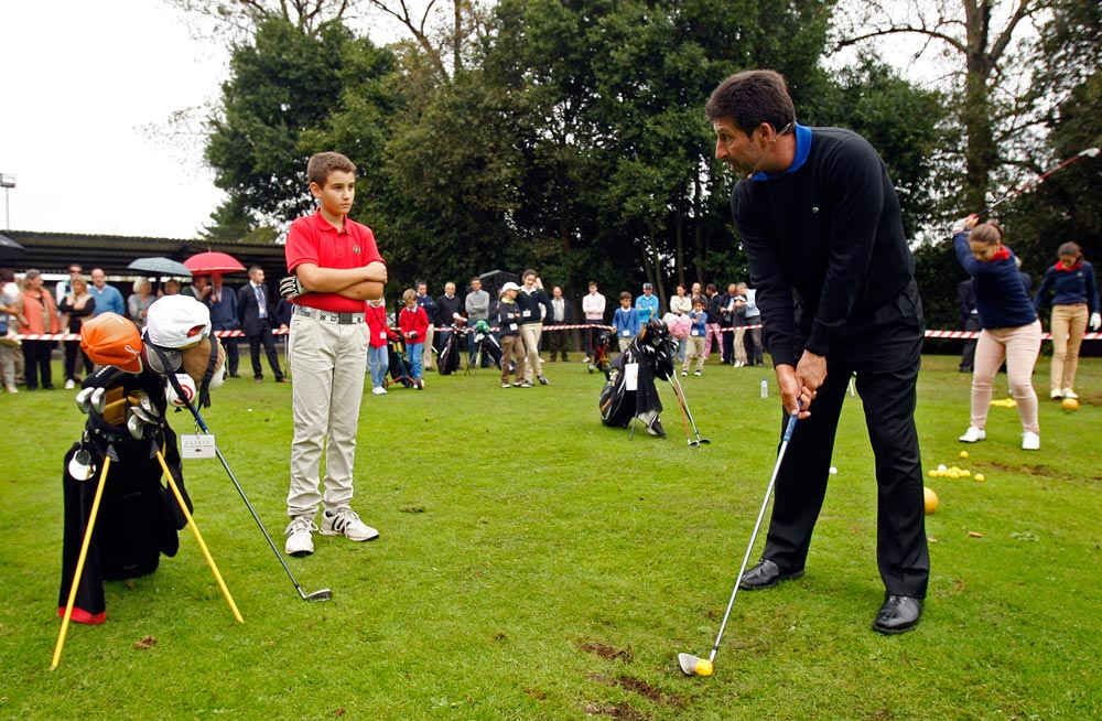 """Golf Clinic"" with José María Olazábal"