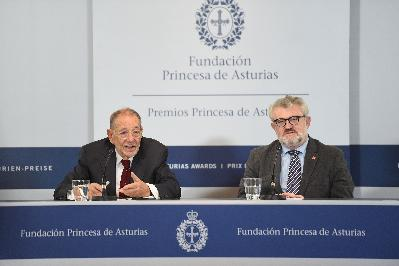 Press conference with representatives of The Prado Museum