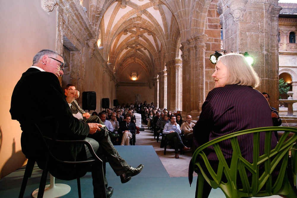 Meeting and debate with Saskia Sassen