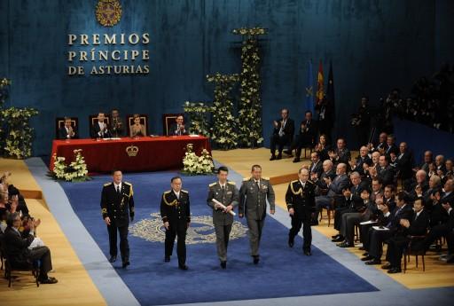 Ceremonia de entrega