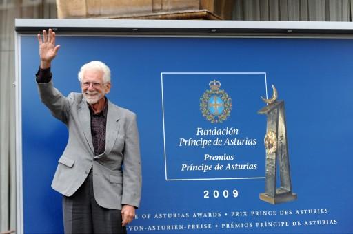 Llegada de los galardonados con el Premio Príncipe de Asturias 2009