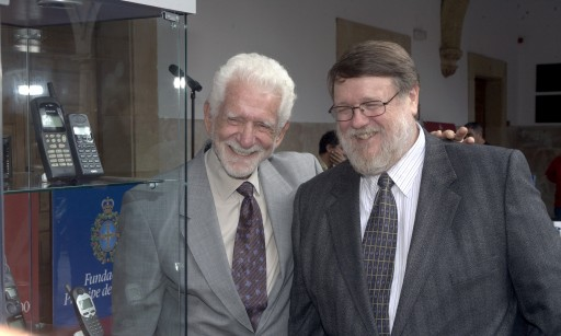 Martin Cooper with Raymond S. Tomlinson