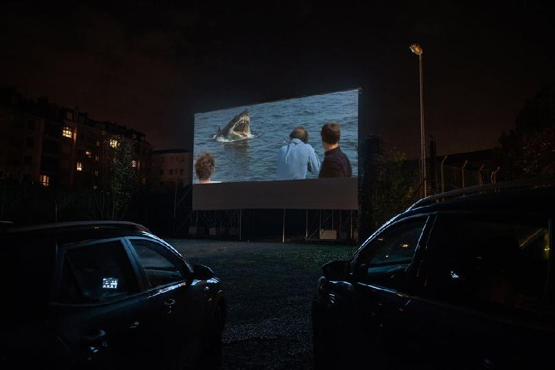 Drive-in Cinema. Jaws (Steven Spielberg, 1975)