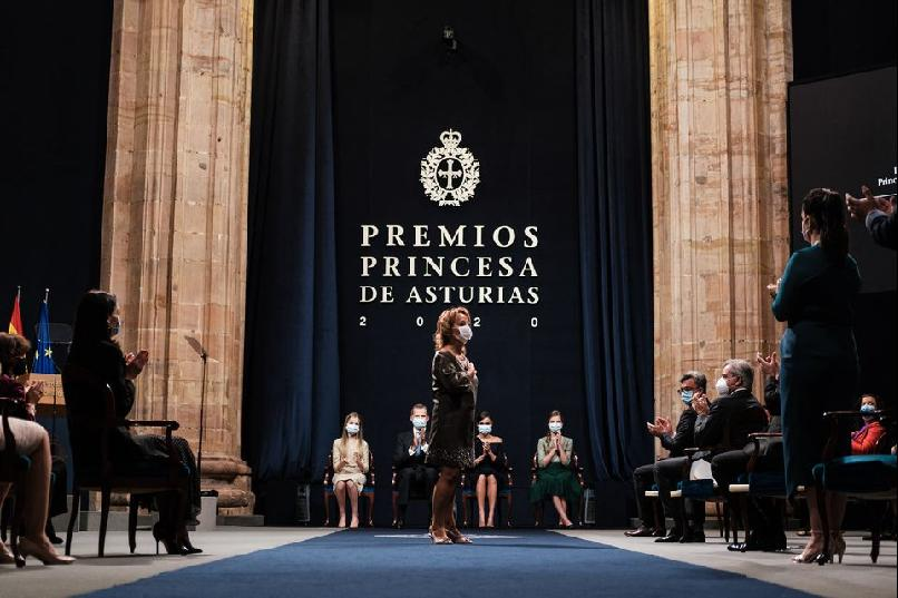 The solemn presentation of the 2020 Princess of Asturias Awards
