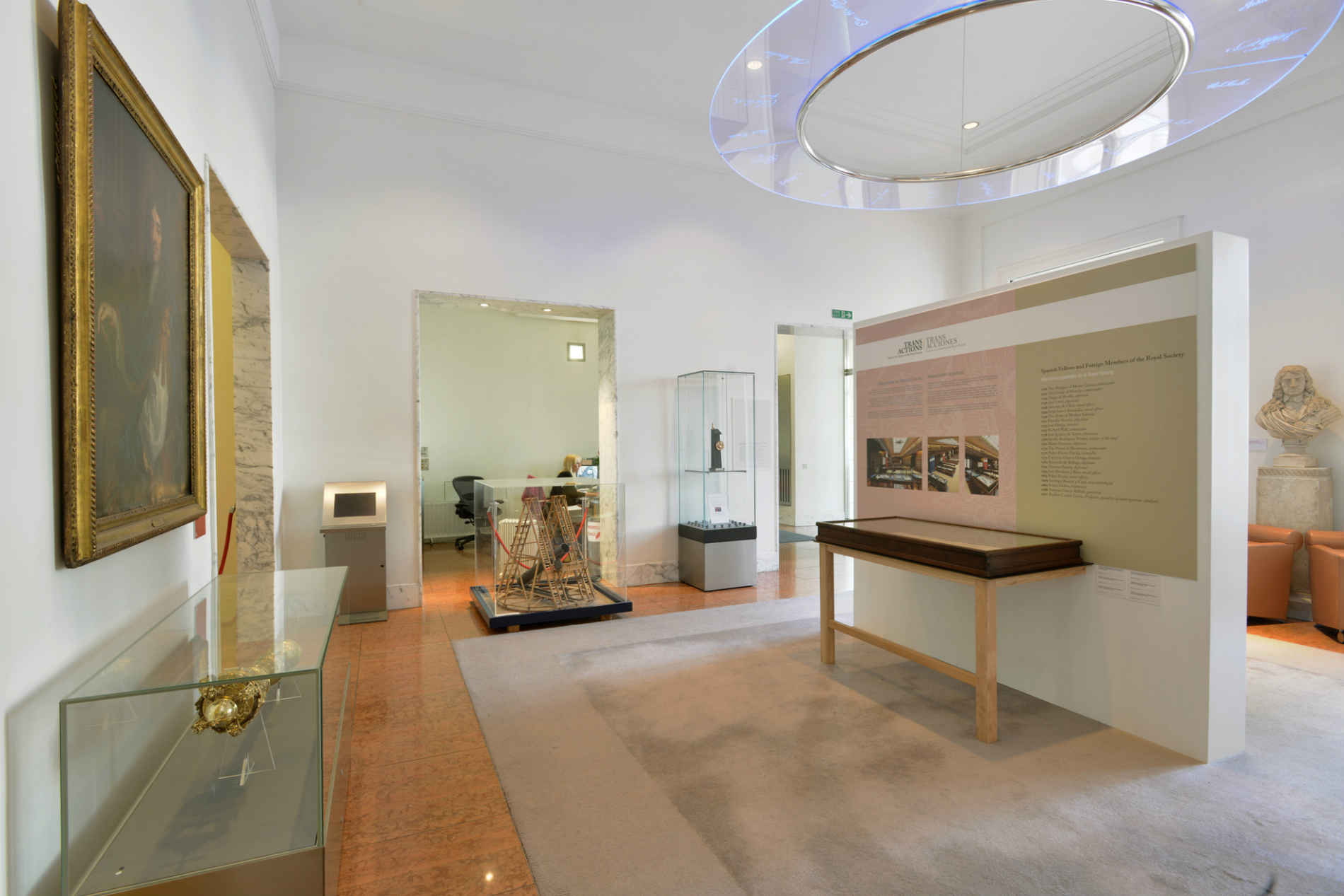 "Exhibition ""Transactions. Spain in the History of the Royal Society"""