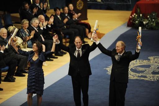 Ceremonia de entrega 2010