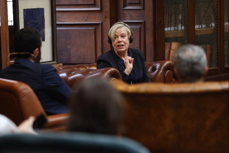 """History and Religion. A Breakfast Meeting with Karen Armstrong"""