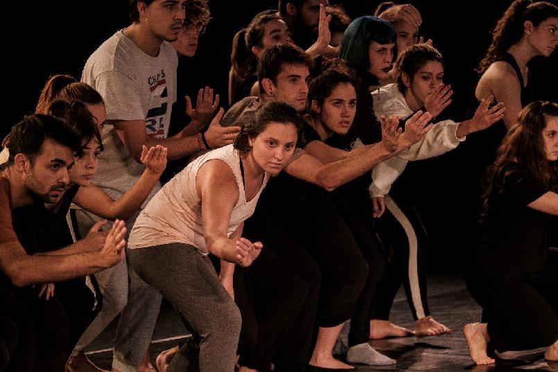 Masterclass de interpretación teatral con el actor Antonio Gil para alumnos de arte dramático