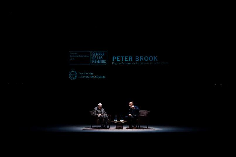 A Meeting with Peter Brook