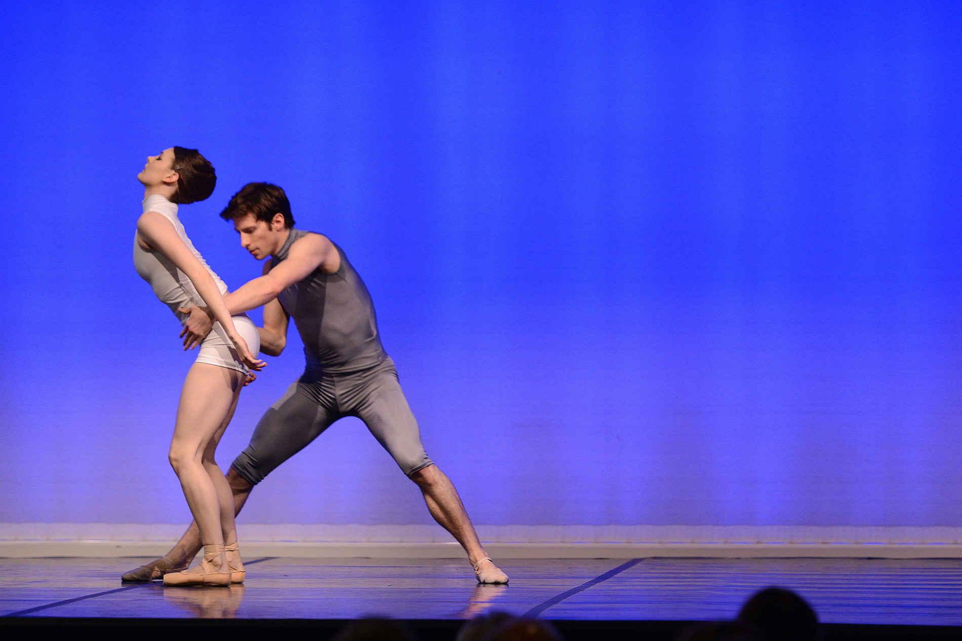 Actuación de miembros del English National Ballet