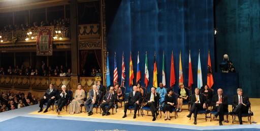 Ceremonia de entrega 2009