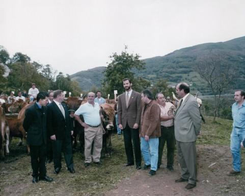 Premio al Pueblo Ejemplar de Asturias 1998