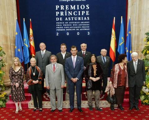 Premios Príncipe de Asturias 2003