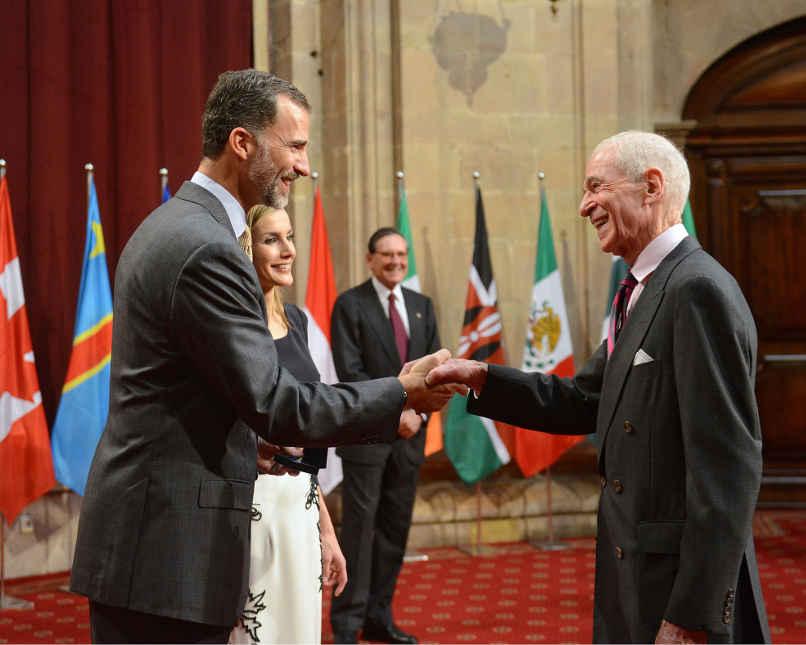 Fotografías de la Audiencia de SS.MM. los Reyes de España a los galardonados
