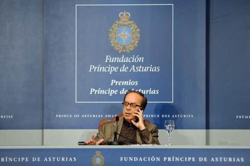 Rueda de prensa de Ismaíl Kadaré