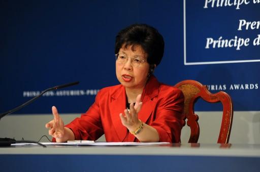 Rueda de prensa de Margaret Chan