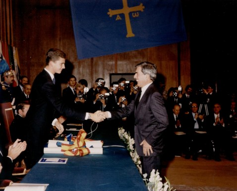 1986 Prince of Asturias Awards