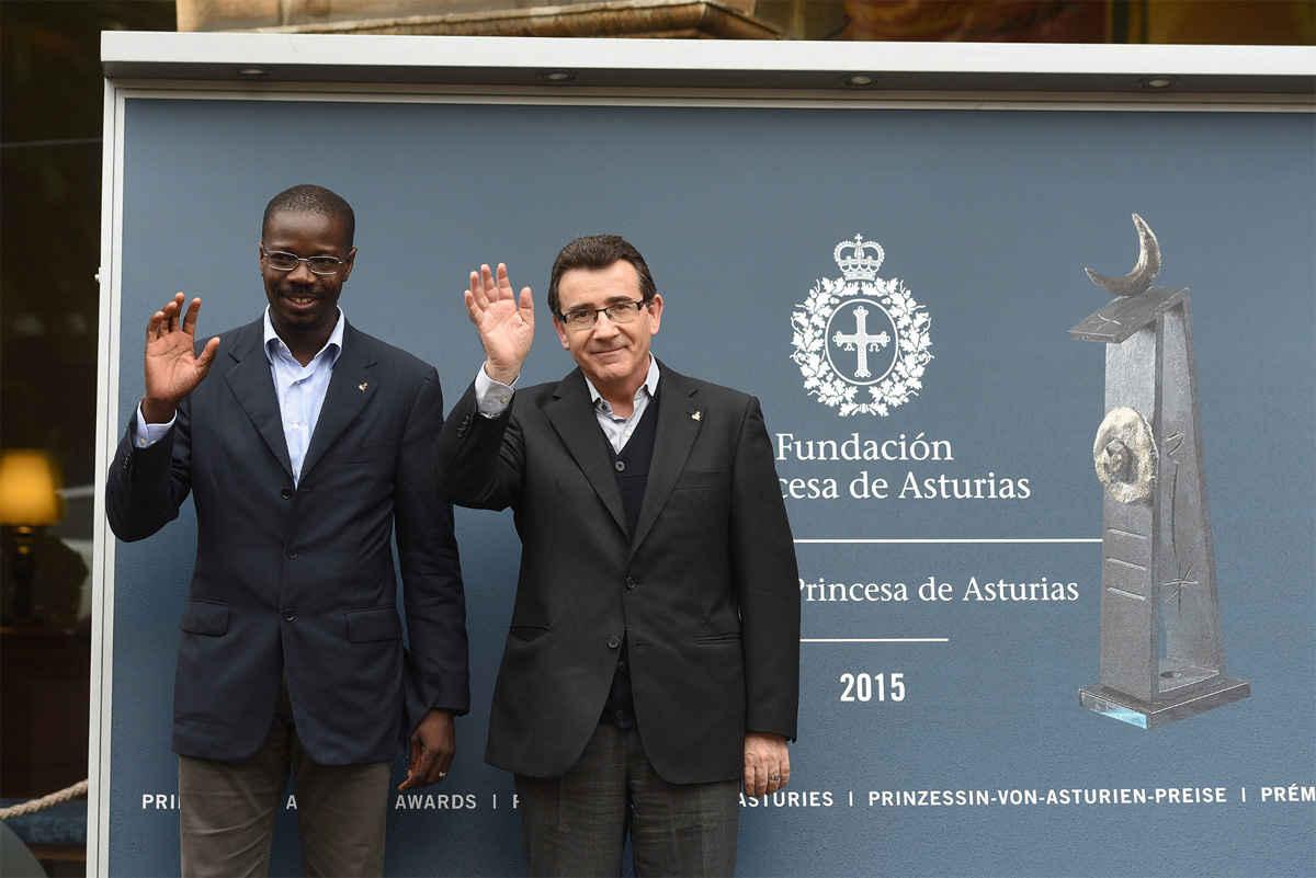 Arrival of Jesús Etayo Arrondo and Pascal Ahodegnon