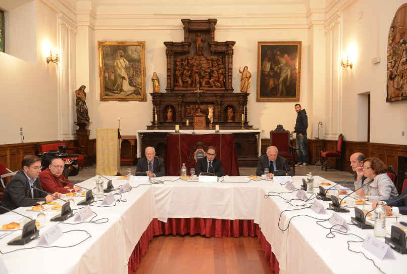 Desayuno de trabajo con Avelino Corma, Mark E. Davis y Galen D. Stucky