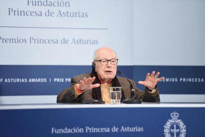 Rueda de prensa de Peter Brook