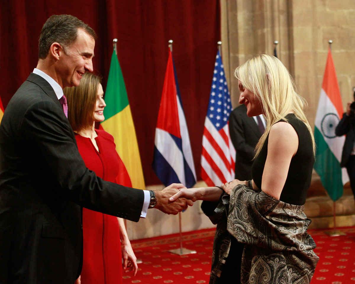 Audiencia de SS.MM. los Reyes de España a los galardonados 2015