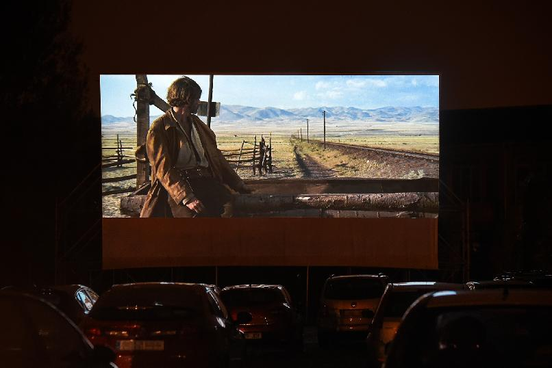 Drive-in Cinema. Once Upon a Time in the West (Sergio Leone, 1968)