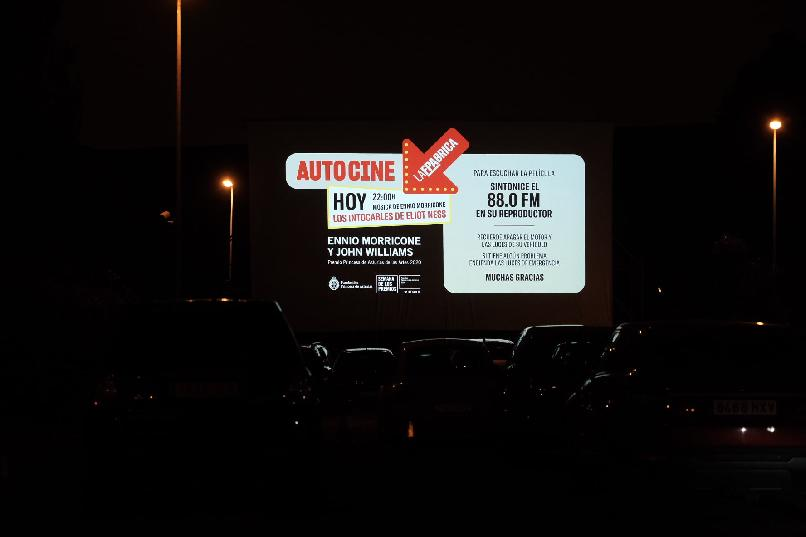 """Drive-in Cinema"". The Untouchables (Brian De Palma, 1987)."
