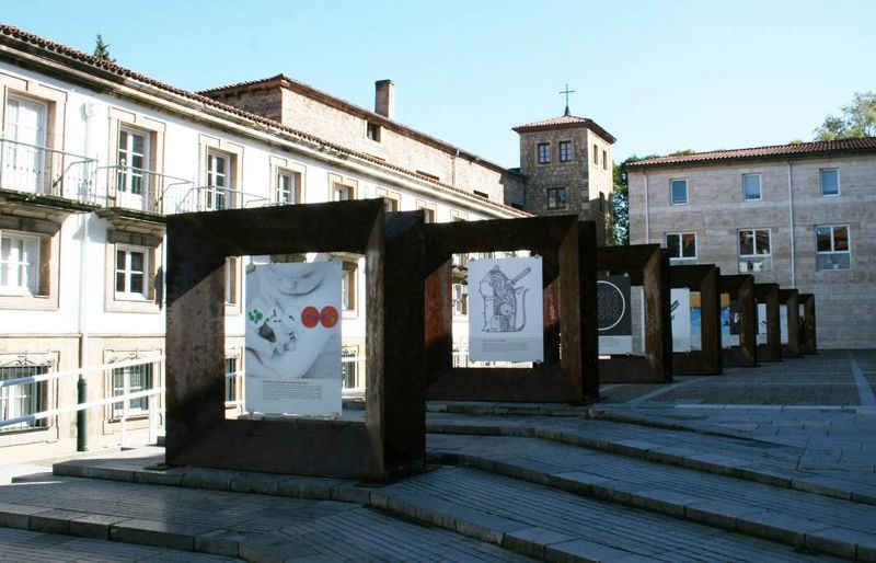 Posters of the exhibition of the Asturian Association of Graphic Designers