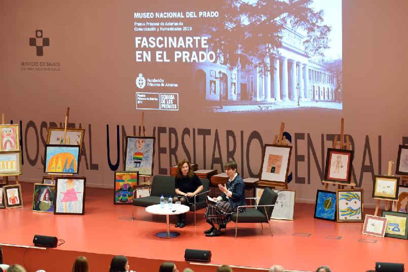 """Taking the Floor"". ""FascinArte at the Prado""."