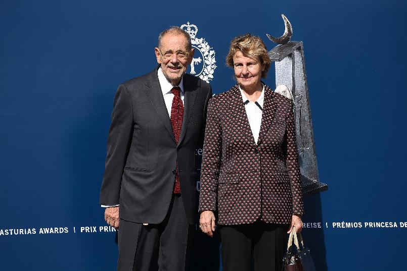 Arrival of Javier Solana, President of the Royal Board of Trustees of The Prado Museum