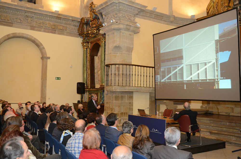Conference by Rafael Moneo in Gijón