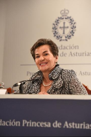 Press conference with Patricia Espinosa and Christiana Figueres