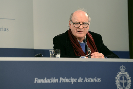 Press conference with Joaquín S. Lavado Tejón, Quino