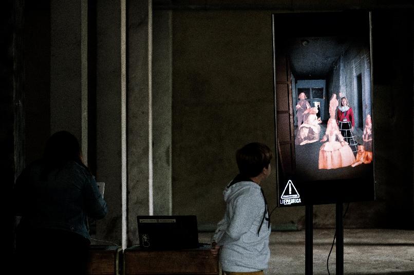 """Domingo del Prado: """"Dentro del cuadro"""""""