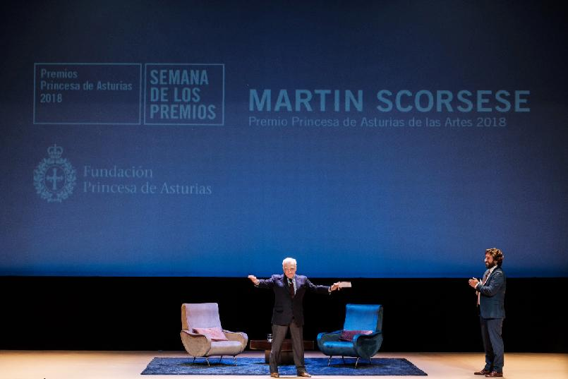 Martin Scorsese meets with the public