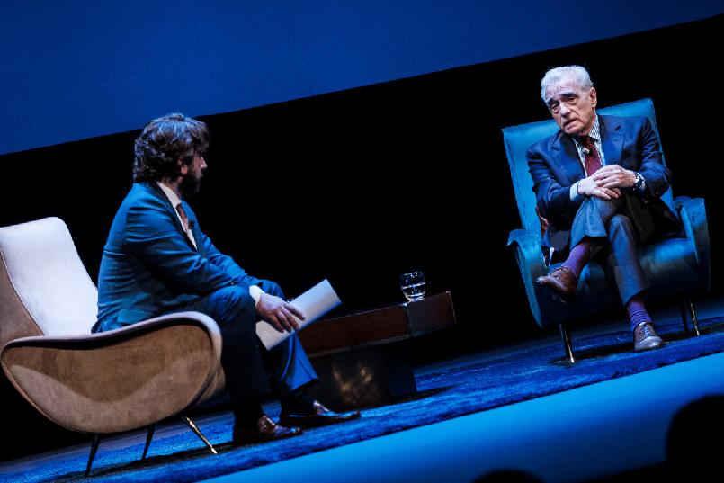Encuentro de Martin Scorsese con el público
