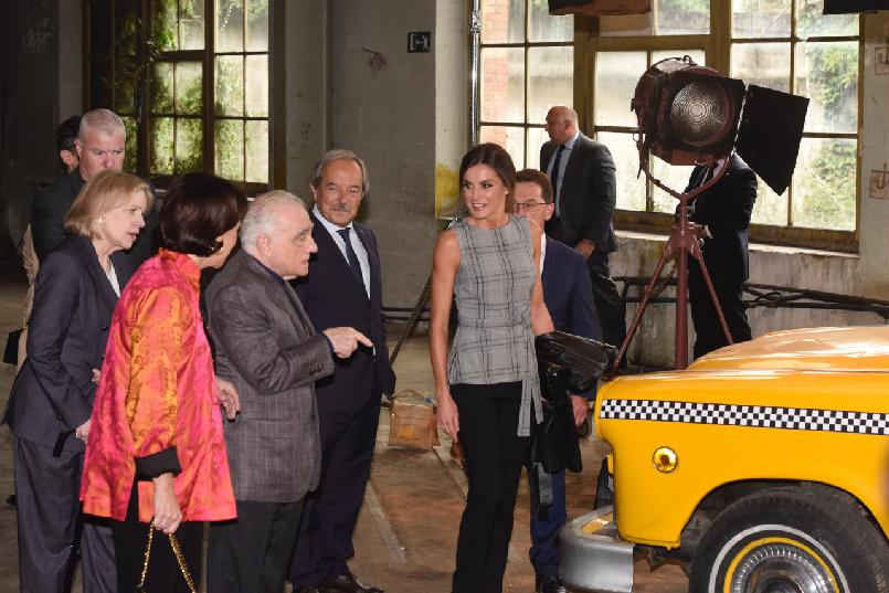 Encuentro de Martin Scorsese con jóvenes cineastas