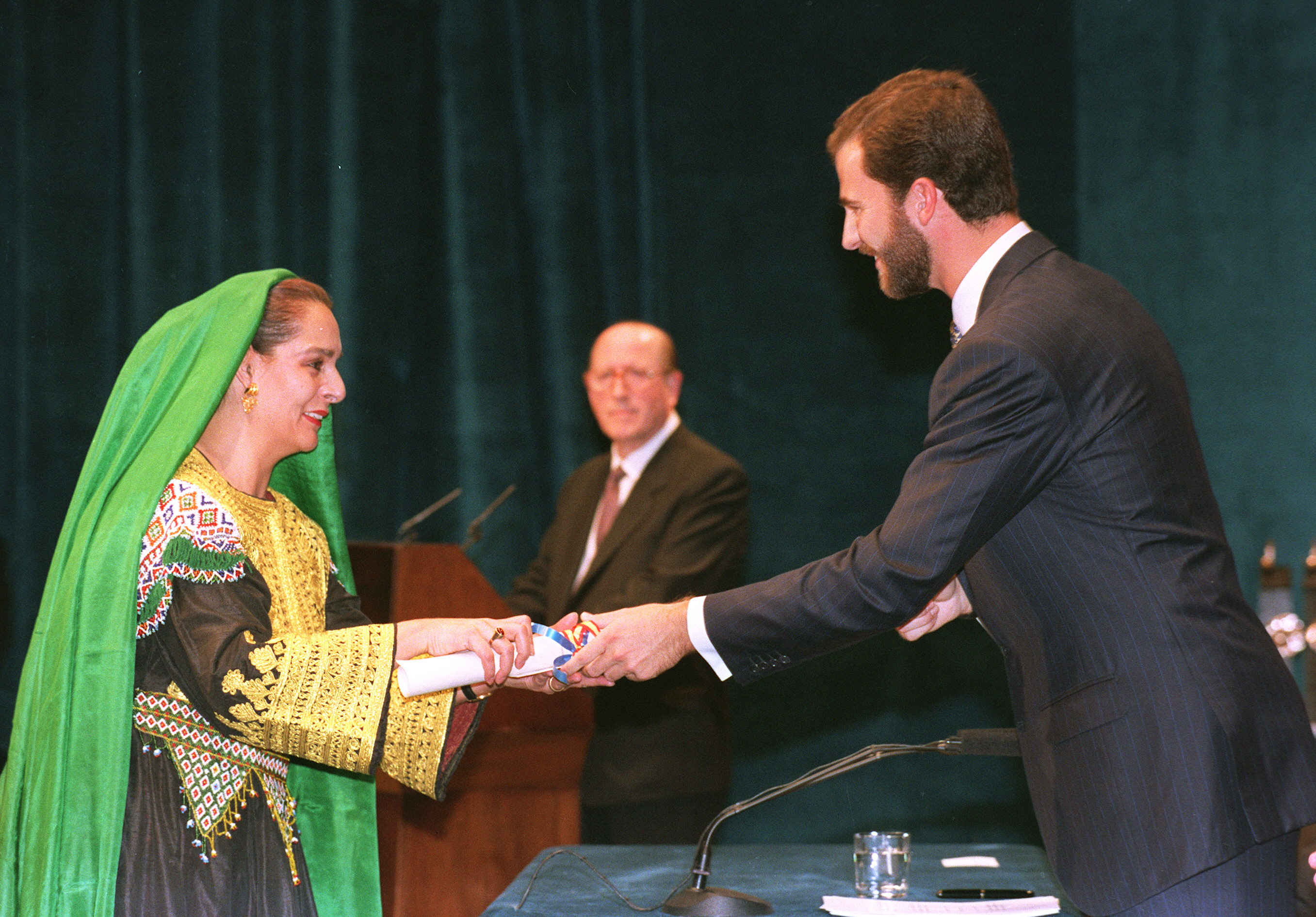 Fatana Ishaq Galiani, 1998 Prince of Asturias Award for Cooperation