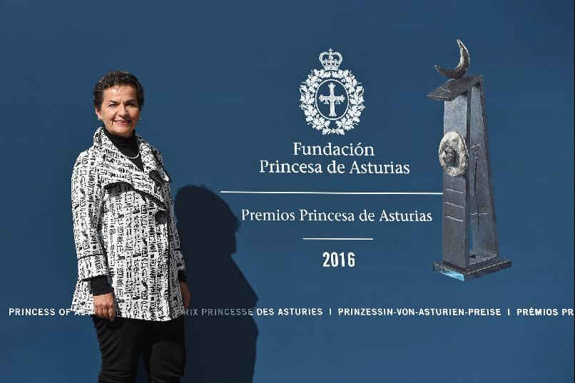 Arrival of Christiana Figueres