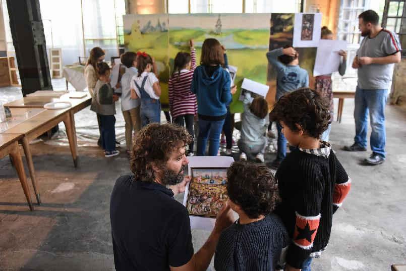 """Taller infantil """"El Jardín de Jerónimo. Un paseo por la obra de El Bosco"""""""