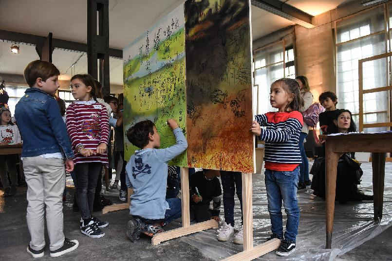 "Children's workshop: ""Hieronymus' Garden. A walk through the works of Bosch"""