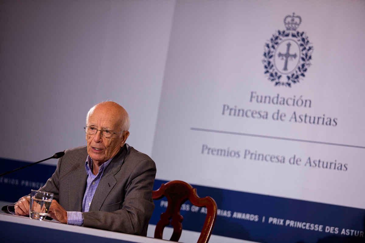 Rueda de prensa Emilio Lledó Íñigo