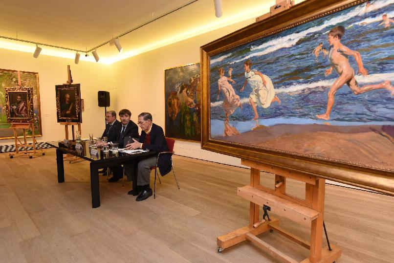 """The Hispanic Society. History portrayed through paintings""."