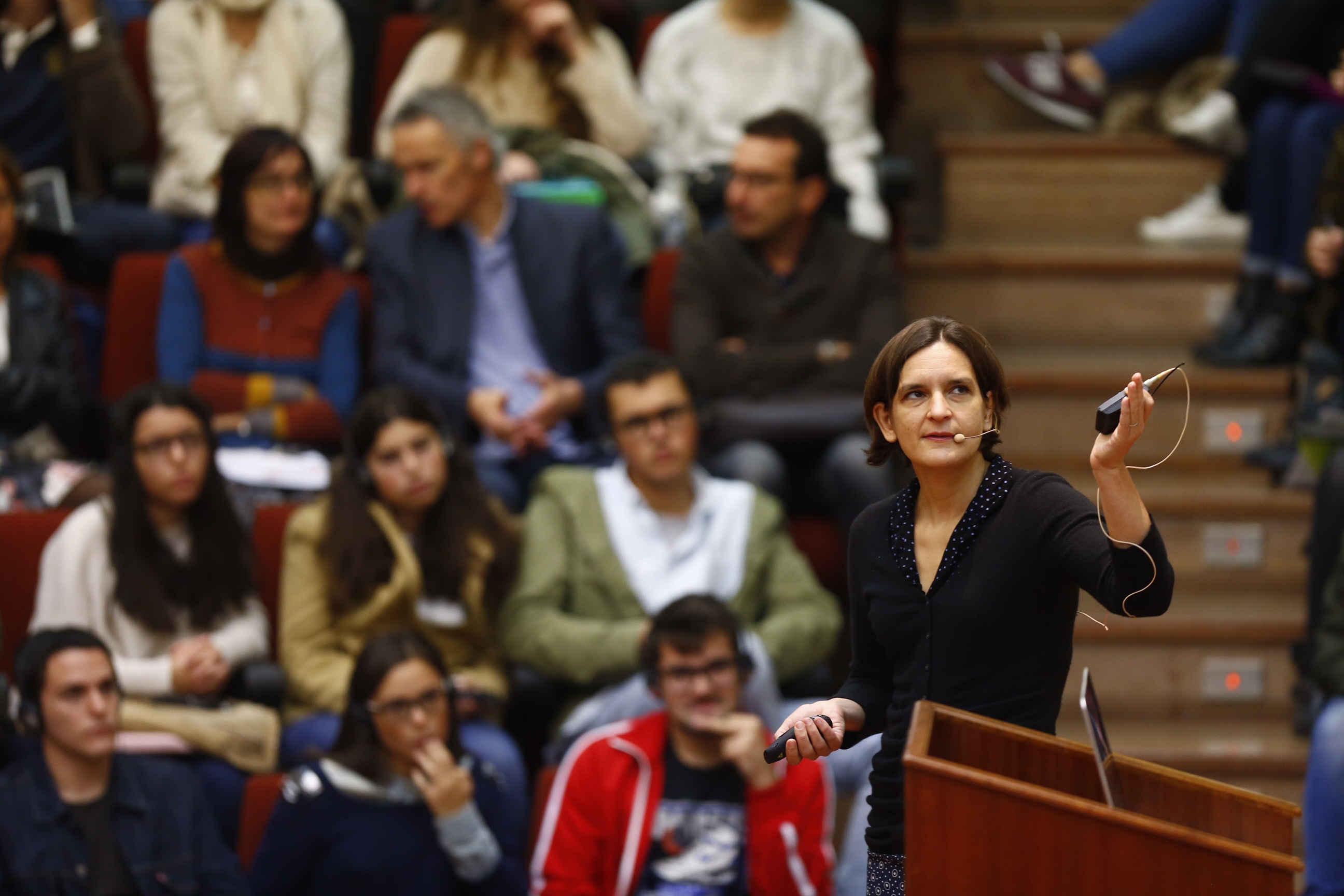 Conferencia de Eshter Duflo