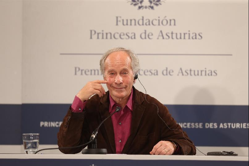 Press conference with Richard Ford